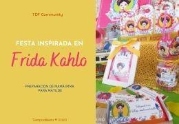 Fiesta hazlo tú mismo inspirada en Frida Kahlo 07/08/2020