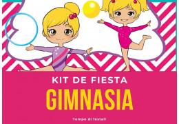 Kit de fiesta temática Gimnasia  25/02/2021