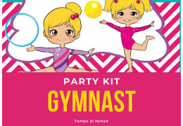Gymnast theme party kit  2021/02/25