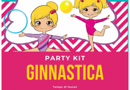 Party kit a tema Ginnastica 25/02/2021