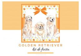 Kit de fiesta temàtica Golden Retriever 18/02/2021