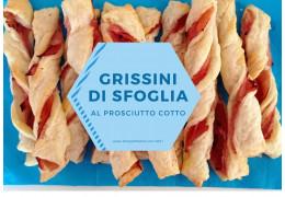 Ricetta per grissini di pasta sfoglia al prosciutto cotto 27/08/2021