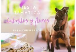 Fiesta temática caballos y flores 02/06/2021