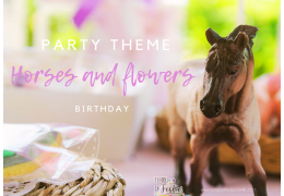 Horses and Flowers Theme Party 2021/06/02