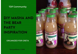 Masha and the Bear theme party 02/23/2018