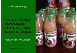 Fiesta temática Masha y el Oso 23/02/2018
