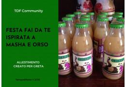 Festa fai da te a tema Masha e Orso 23/02/2018