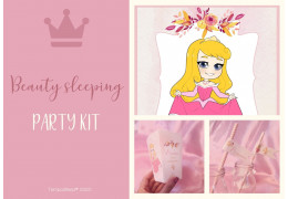 Party kit inspired on Sleeping Beauty Aurora 2020/05/29