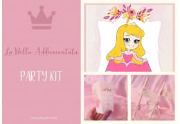 Party kit ispirato alla Bella Addormentata Aurora 29/05/2020