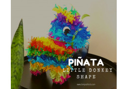 How to make a Little Donkey Piñata, Mexican Parties 2019/10/18