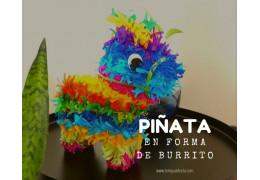 Como hacer una Piñata de Burrito, Fiestas Mexicanas 18/10/2019