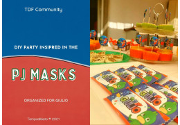 DIY Party inspired on the PJmask 2021/05/24