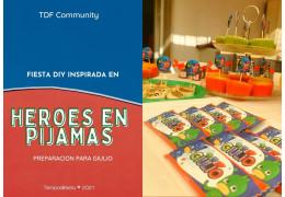 Fiesta DIY inspirada en Heroes en Pijamas 24/05/2021