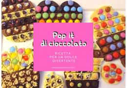 Pop it di cioccolato, ricetta per un dolce divertente 27/08/2021