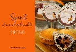 Fiesta personalizada inspirada en Spirit el Corcel Indomable 31/07/2019