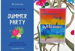Festa fai da te a tema Summer Party 02/07/2021