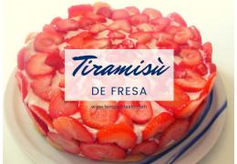 Receta de Tiramisú de Fresa 19/05/2021