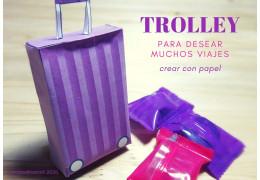 Como crear una Maleta Trolley de Papel  28/12/2020